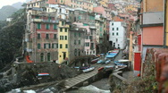 Stock Video Footage of Riomaggiore, Cinque Terre, Italy