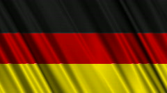 Group D FIFA WC 2010 Looping Flags 01 Stock Footage