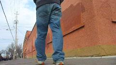 Urban Walk 1 - stock footage