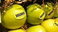 Organic Produce 2 of 3 Stock Footage