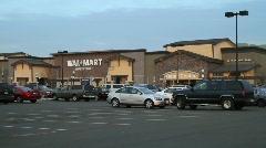 Walmart Supercenter Stock Footage