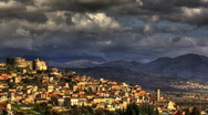 Stock Video Footage of Italian old town timelapse HDR