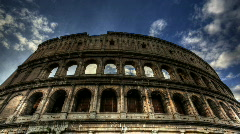 Colosseum timelapse HDR - stock footage