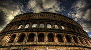 Stock Video Footage of Colosseum timelapse HDR