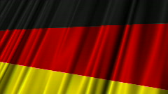 Group D FIFA WC 2010 Looping Flags 02 Stock Footage