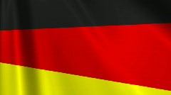 Group D FIFA WC 2010 Looping Flags 03 Stock Footage