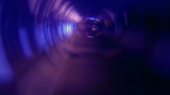 Psichedelic Tunnel in Blue, HD - stock footage