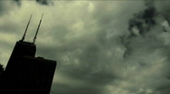 Skyline Dark Clouds Time Lapse HD 1080 by in Stock Footage