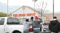 Home Depot Lot Workers Footage