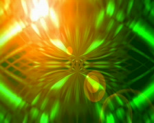 Glowing Abstract Animation 02B - stock footage
