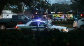 Police & Traffic At The Scene Of A Car Crash HD Footage