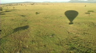 Aerial view of the Serengeti Stock Footage