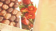 Chocolate Candy box Stock Footage