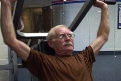 Senior Bodybuilder Stock Footage
