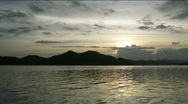 Stock Video Footage of Time lapse of sunset in Coron town, Philippines