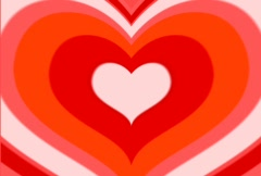 Enamoured hearts by Valentine`s day Stock Footage
