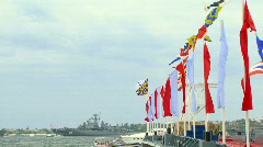 Warships Stock Footage