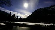Stock Video Footage of Half Dome, Yosemite Timelapse