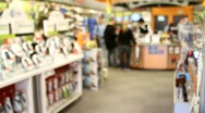 Stock Video Footage of Retail Electronics Store