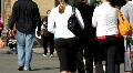 Busy Crosswalk Footage