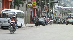 Cars in Haiti (HD) m - stock footage