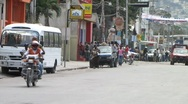 Cars in Haiti (HD) m Stock Footage