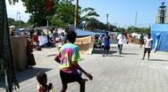 People Playing in Haiti (HD) m Stock Footage