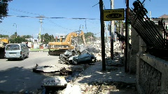 Digging in the Rubble - Earthquake (HD) m - stock footage