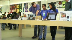 Apple Store 5 - stock footage