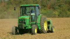Farmer Sowing Seed 02 Stock Footage