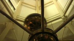 Foucalt pendulum  Stock Footage