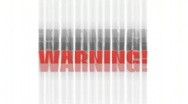 Stock Video Footage of Warning Animation