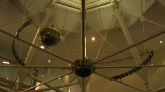 Foucalt pendulum  - stock footage