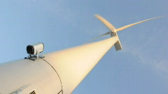 windmill loop4 bottom vertical - stock footage