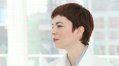 Portrait of a charismatic businesswoman Stock Footage