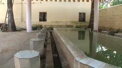 Muslim Footwashing Area in India Stock Footage