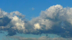 Clouds Time Lapse HS 01 30x VJ Loop Stock Footage