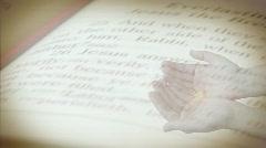 Worship Prayer Background - stock footage