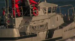 US coastguard Stock Footage