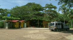 Costa Rica Tourism Gift Shop location establishing Tarcoles River 08 Stock Footage