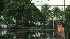 Coastal Flooding Natural Disaster - 01 - stock footage