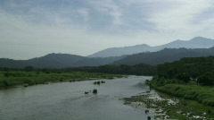 River Scenic - Costa Rica Tarcoles River 01 Stock Footage