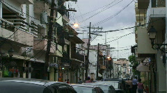 Stock Video Footage of Downtown Santo Domingo - Dominican Rep. - 01