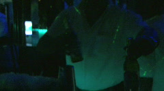 Bartenders - Dominican Club - 03 Stock Footage