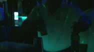 Stock Video Footage of Bartenders - Dominican Club - 03