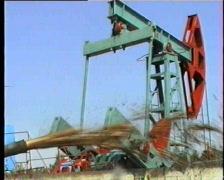 oil pump - stock footage