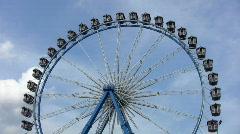Munich Ferris Wheel Stock Footage