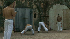 Capoeira Demonstration - 01 Stock Footage