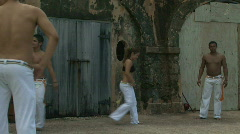 Capoeira Demonstration - 05 Stock Footage