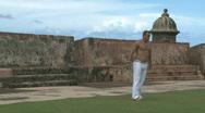 Capoeira Demonstration - 07 Stock Footage
